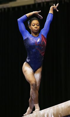 Gabby Douglas plue and purple competitive gymnastics leotards as Seen at the 2015 US Championship Gymnastics Poses, Gymnastics Outfits, Gymnastics Pictures, Artistic Gymnastics, Olympic Gymnastics, Olympic Sports, Olympic Team, Gymnastics Leotards, Gymnastics History