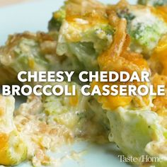 This is such an amazing twist on your standard pasta salad. Broccoli Cheddar Casserole, Broccoli Dishes, Vegetable Casserole, Vegetable Dishes, Vegetable Recipes, Cheddars Broccoli Cheese Casserole Recipe, Broccoli Cheddar Chicken, Side Dishes Easy, Side Dish Recipes