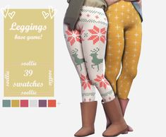 The Sims 4 Leggings by soellie Sims 4 Mac, Sims Cc, The Sims 4 Download, Sims 4 Cc Finds, Pants For Women, Clothes For Women, Sims Mods, The Sims4, Sims 4 Custom Content