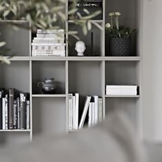 My new IKEA bookcase hack up un the blog   inspired by talented annakubel  onetofollow  diybookcase ikeahack livingroom stylizimohouse