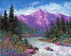 Purple mountain majesty 2012 by Norman Engel