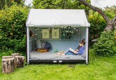 Shelter, Flyt ud i naturen hjemme i haven