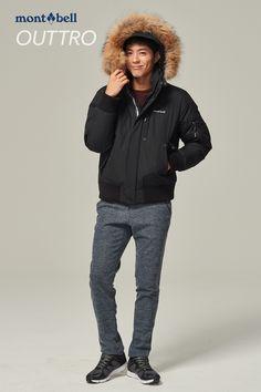 박보검 161115 몽벨 봄버 자켓  [ 출처 http://blog.naver.com/montbell1/220862222937 ]