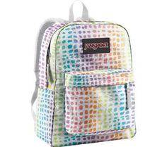 Rainbow backpack (why so expensive?) $34.70
