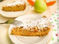 Тыквенный пирог с яблоком