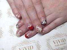 #vividnailsalonsydney#calgel#sydney#nail#nails#nailart#geldesign#art#nalisalon#gelnail#japanesenailart#ネイル#ネイルアート#ジェルネイル#カ�
