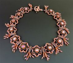 laura mccabe fireworks and flowers necklace