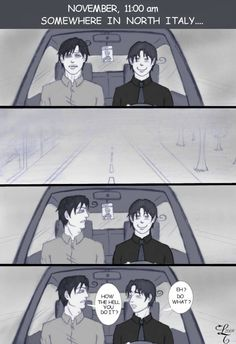 Romano is Trying to figure out how Italy sees XD Hetalia Funny