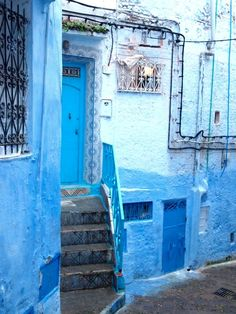 Chefchaouen, a blue city in Morocco : xxx