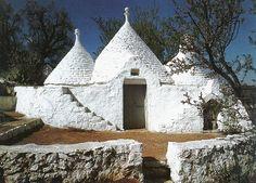 Trulli houses in Puglia (Italy)