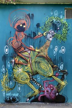 Mr Fijodor - Italian Street Artist - Torino (IT) - 09/2015 - |\*/| #mrfijodor #streetart #italy