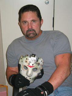 Kane Hodder aka Jason Voorhees Friday the 13th parts 7, 8, 9, & 10
