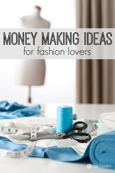 With today's technological advances, women are able to work from home in the fashion industry without any formal education. So if you've been looking for a money-making gig within the fashion industry -- here are 5 different fashion careers to try on for Make Money Blogging, Make Money From Home, Way To Make Money, Make Money Online, Money Fast, Money Tips, Fashion Jobs, Fashion Websites, Fashion Courses