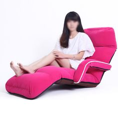 Dulplay adjustable folding chaise lounge sofa, tatami lazy sofas chair floor couch with armrest floor cushion-rose red Woodworking Education, Woodworking Magazine, Floor Couch, Floor Cushions, Lounge Sofa, Sofa Chair, Hand Wood Carving Tools, Sitting Pillows, Tiny Boat