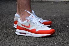 #Nike Air Max 1 OG Lunar Sport Red #sneakers