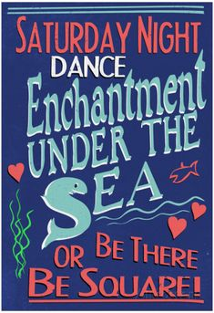 Enchantment Under The Sea Dance Movie Poster Poster at AllPosters.com
