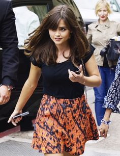 Jenna-Louise Coleman at the San Diego Convention Center during Comic-Con 2013