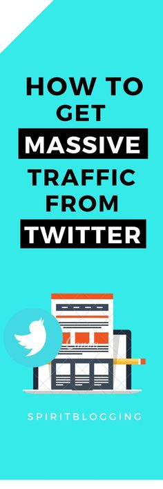 Learn how you can increase your blog traffic through Twitter and increase your income and traffic from the Twitter.