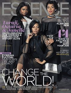 Check out the cast of Hidden Figures On Essence Magazine's February 2017 issue as they bring Black Girl Magic full circle.