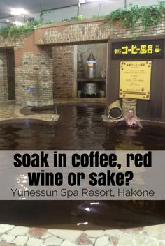 Yunessun Spa Resort, Hakone: www.feetonforeignlands.com