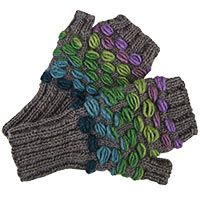 Winter Festival Wool Fingerless Gloves at The Animal Rescue Site  Created to help women worldwide gain economic security for themselves and their families by earning fair wages for their handiwork, Global Girlfriend sources women-made, fair-trade imported, eco-friendly products. By supporting long-term partnerships with the artisans, it fosters equal employment opportunities, healthy and safe working conditions and development strategies to help reduce poverty, one community at a time.