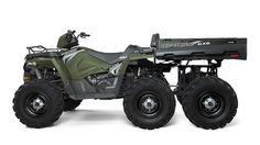 2017 Sportsman® 6x6 BIG BOSS 570 EPS ATV | Polaris