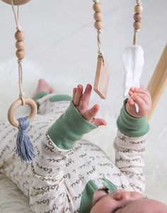 Bohemian Baby Mobile | CloverandBirch on Etsy