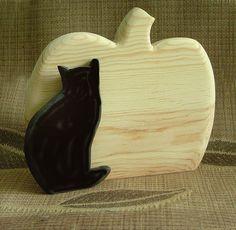 HALLOWEEN  Cat and Pumpkin  DIY Do It by SuppliesbyWKStudios, $8.50