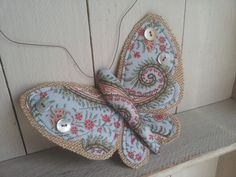 Butterfly in paisley fabric. 'Fife' by littlebowery on Etsy, £19.00