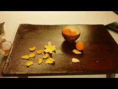 겨울엔 티비보며 귤이지!(Winter is citrus!!.) #Korea #miniature  #Handmade #미니어처 #迷你型 #ミニチュア #Food #Miniaturefood #Polymerclay #미니어처음식 #Baking #Cooking #Figure #Sculpture #RE-MENT #겨울 #winter