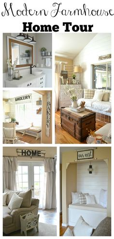 Modern Farmhouse Home Tour