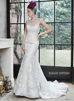 Maggie Bridal by Maggie Sottero 5MB657-Noelle Maggie Sottero Couture Amanda-Lina's Sposa Boutique - Wedding Gowns, Prom, Bridesmaid and Evening Dresses