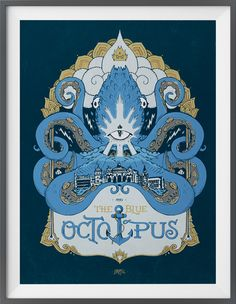 The Blue Octopus on Behance