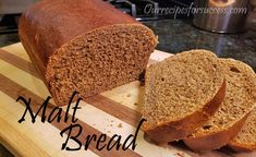 Aunt Jean's Malt Bread Recipe | Dempster's Malt Bread Copycat Recipe