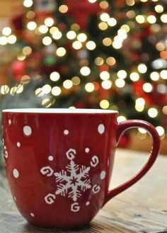 Christmas mug.we have loads of different Christmas mugs in our house. Christmas Time Is Here, Noel Christmas, Merry Little Christmas, Christmas Is Coming, Country Christmas, All Things Christmas, Winter Christmas, Christmas Coffee, Xmas