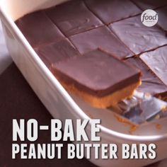 No-Bake Peanut Butter Bars + Salted Chocolate Ganache... Try this (seriously) easy recipe!