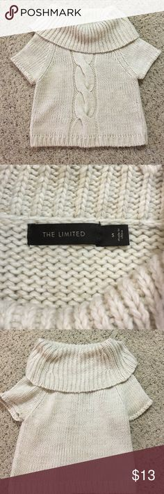 Like new chunky cream cable knit sweater | Cable, Wardrobes and ...