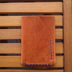 Horween Dublin minimalist leather wallet by BenjaminBottDesign, $45.00