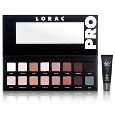 LORAC Pro Palette, 0.19 Ounce $42...my go-to palette right now <3