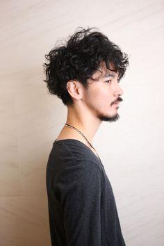 Asian Men Long Hair, Wavy Hair Men, Long Wavy Hair, Short Hair Cuts, Girls Short Haircuts, Haircuts For Men, Permed Hairstyles, Boy Hairstyles, Hair And Beard Styles