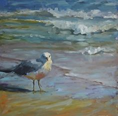 birds art Drawing Paintings is part of Bird Drawings Fine Art America - Bird Bath by susan hecht Oil ~ 30 x 30 Abstract Landscape Painting, Seascape Paintings, Landscape Art, Landscape Paintings, Oil Paintings, Landscapes, Coastal Art, Bird Drawings, Am Meer