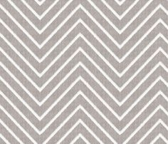 Chevron Chic - Maxi - Silver Grey fabric by kristopherk for sale on Spoonflower - custom fabric, wallpaper and wall decals