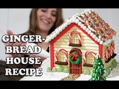GINGERBREAD HOUSE RECIPE How To Cook That for Christmas. Published on Oct 31, 2014 - YouTube