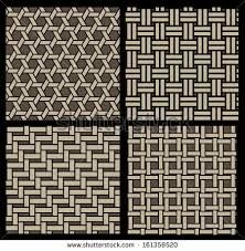 basketwork pattern - buy this stock vector on Shutterstock & find other images. Paper Weaving, Loom Weaving, Fabric Weaving, Ribbon Art, Ribbon Crafts, Textiles Techniques, Weaving Techniques, Fabric Strips, Woven Fabric