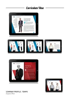 Company Profile Digital iPAd on Behance