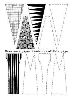 abalorios de papel - Buscar con Google
