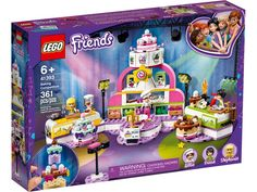 Superb LEGO 41393 Friends Baking Competition with Cakes & Cupcakes Set Now at Smyths Toys UK. Shop for LEGO Friends At Great Prices. Free Home Delivery for orders over All Lego Sets, Lego Friends Sets, Friends Series, Lego Store, Toy Store, Legos, Cooking Toys, Lego Cake, Gaming