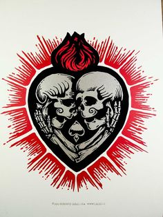 Love beyond death Skull Couple Tattoo, Skull Tattoos, Cool Laptop Stickers, Love Stickers, Skeleton Art, Skull Wallpaper, Damien Hirst, Skulls And Roses, Beste Tattoo