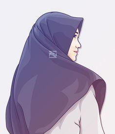 Cartoon Pics, Girl Cartoon, Cartoon Art, Islamic Girl Pic, Islamic Art, Tmblr Girl, Teacher Cartoon, Hijab Drawing, Islamic Cartoon