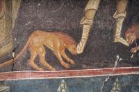 Три отрока в пещи огненной (Дан. 3). Пророк Даниил во рву львином (Дан. 6); Балканы. Сербия. Дечаны; XIV в. - православные мастерские «Русская Икона»